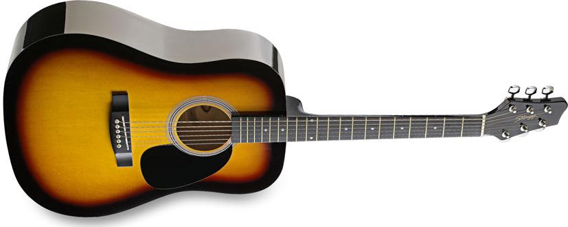 Fotografie Stagg SW201SB, akustická kytara