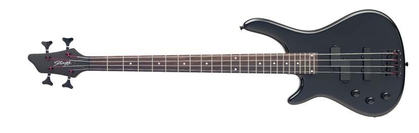 Stagg BC300LH-BK, baskytara, levoruká