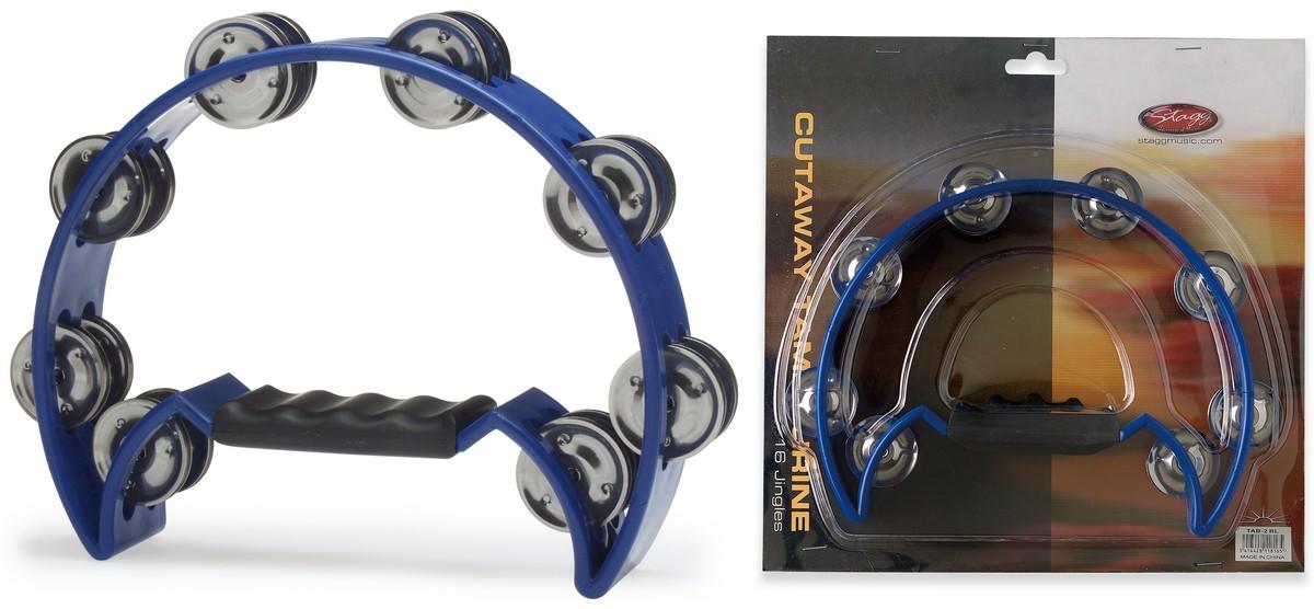 Stagg TAB-2 BL, tamburína modrá