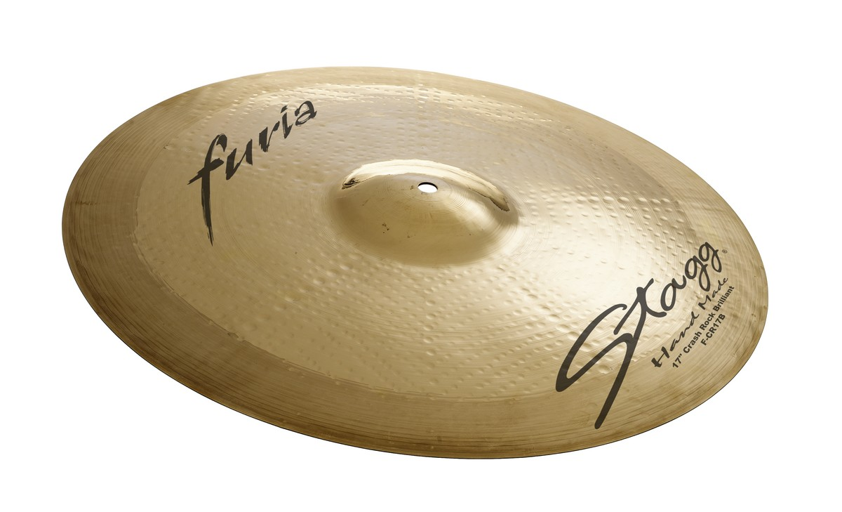 "Činel 18"" FURIA BRILLIANT CRASH ROCK"