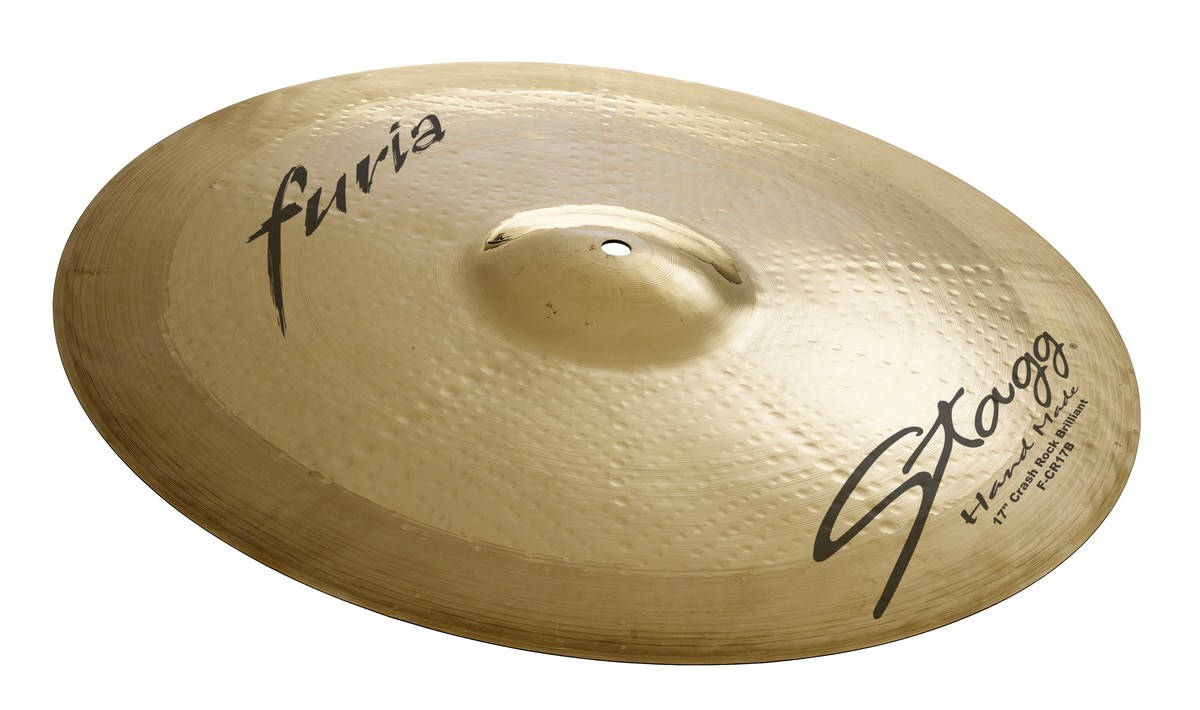 "Činel 19"" FURIA BRILLIANT CRASH ROCK"