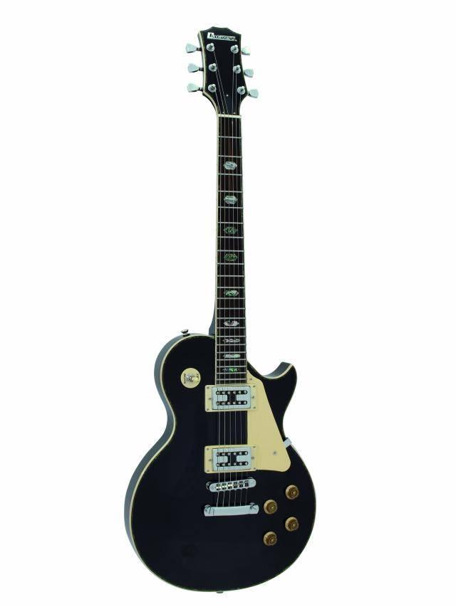 Dimavery LP-700 elektrická kytara, černá
