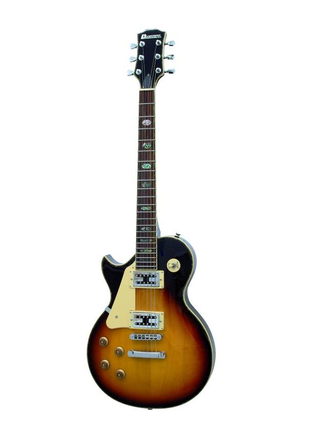 Dimavery LP-700L elektrická kytara, sunburst, pro leváky