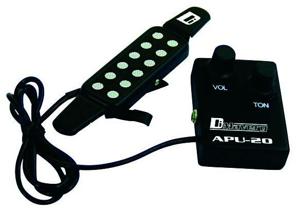 Dimavery APU-20 snímač s regulací pro akust. a klas. kytaru