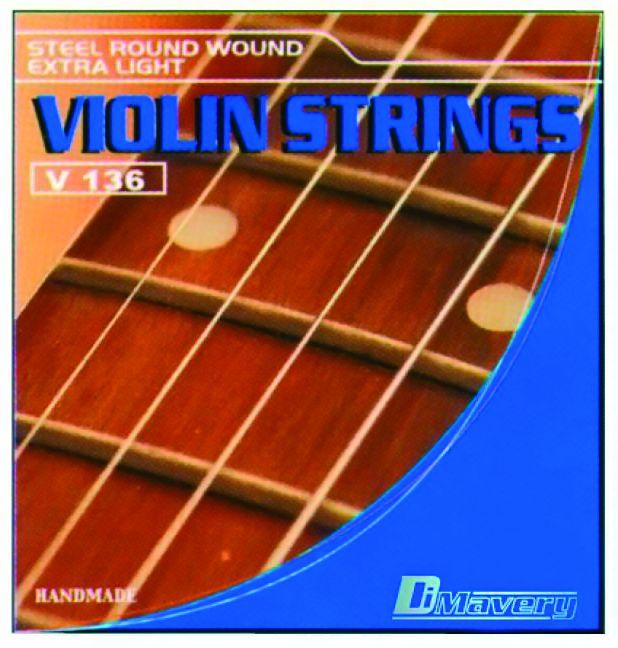 Fotografie Dimavery Violin-Saiten-Set 0.09-0.29