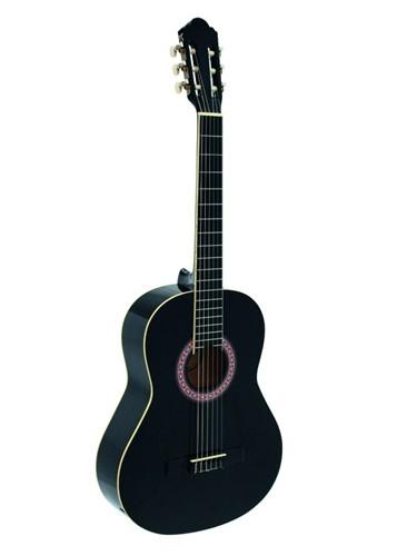 Fotografie Dimavery AC-303 klasická kytara, černá