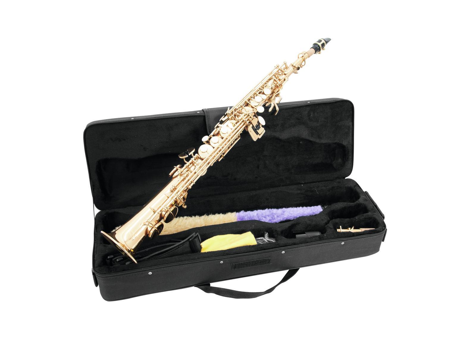 Fotografie Dimavery SP-10 B soprán saxofon, rovný