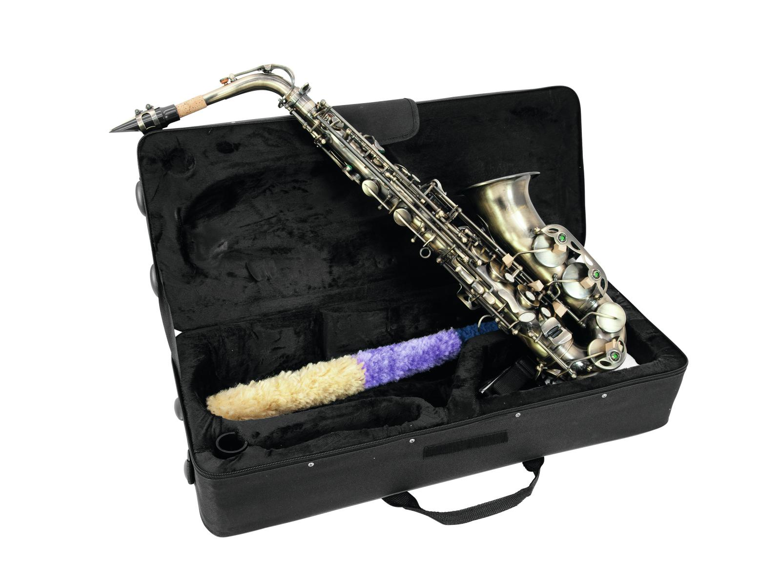 Dimavery SP-30 Es alt saxofon, vintage