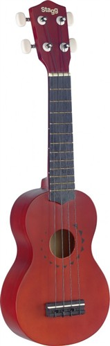 Stagg US10 TATTOO, sopránové ukulele