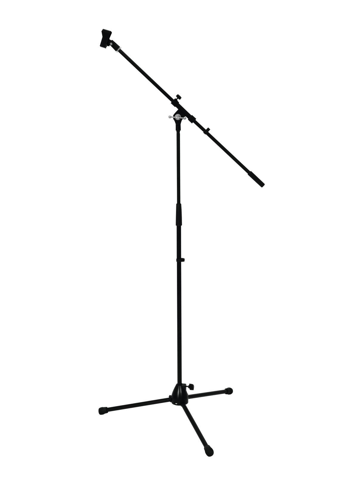 Fotografie Mikrofonní stojan Profi, černý max. výška 220cm
