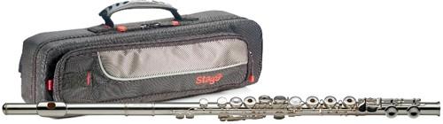 Fotografie Stagg WS-FL241S, C příčná flétna