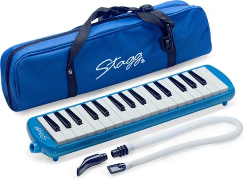 Stagg MELOSTA32 BL, klávesová harmonika, modrá