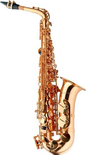 Es alt saxofon s pouzdrem