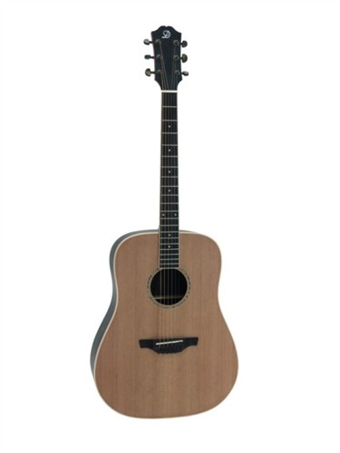 Fotografie Dimavery CN-500 klasická kytara s výkrojem, 3-pásmový EQ