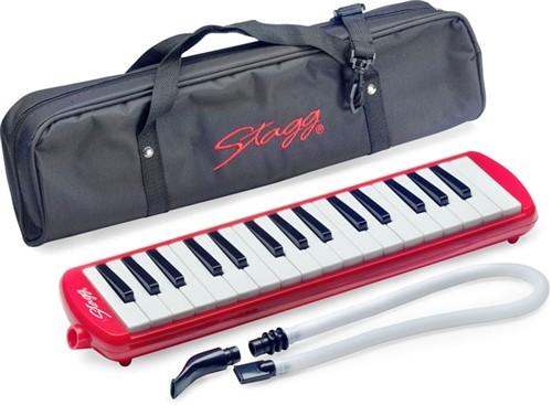 Stagg MELOSTA32 PK, klávesová harmonika, růžová
