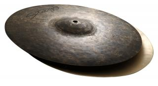 "Činel 14"" BLACK METAL HI-HAT ROCK"