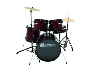 Dimavery DS-200 Drum-Set, vínový